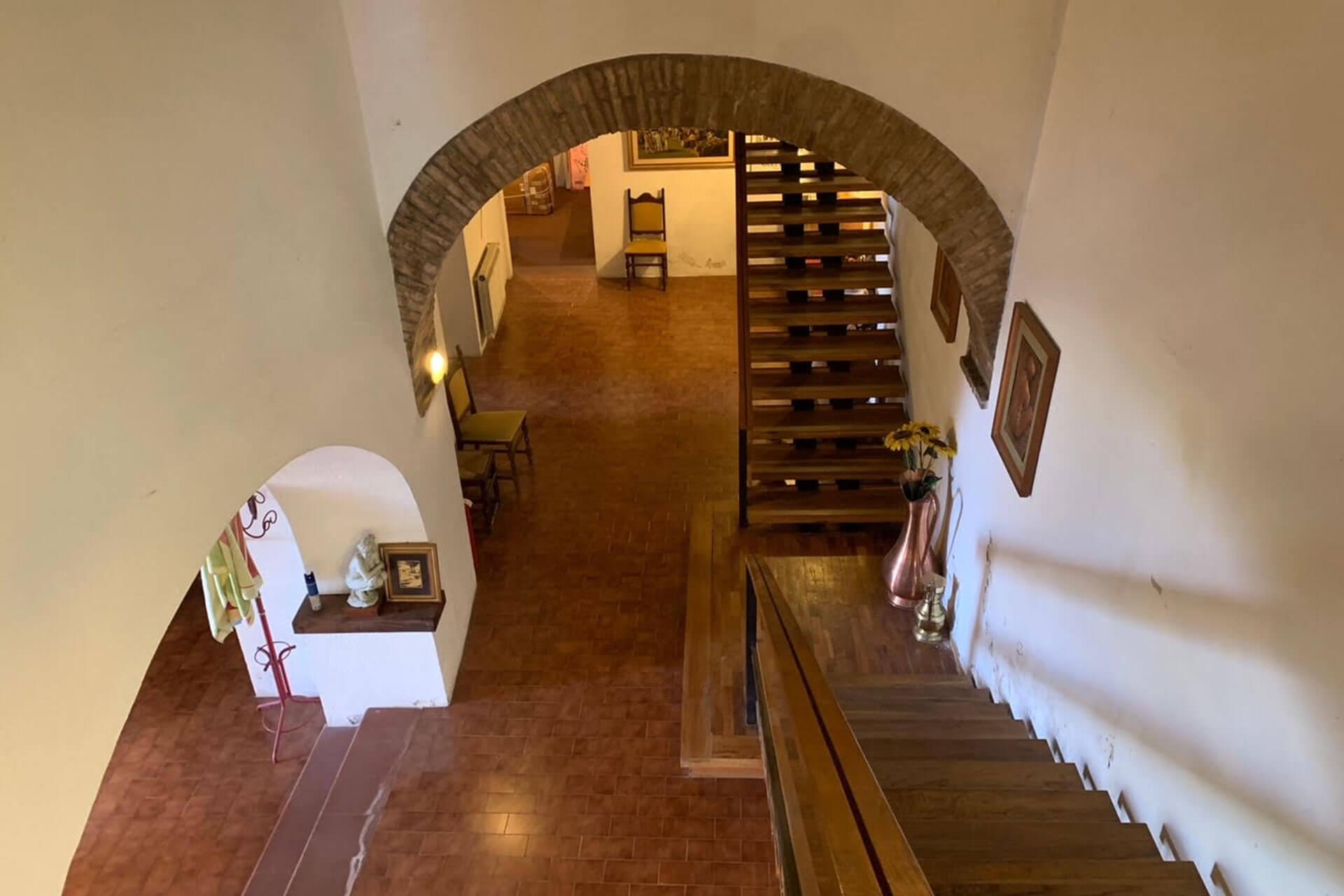Casale a Spoleto con vista panoramica